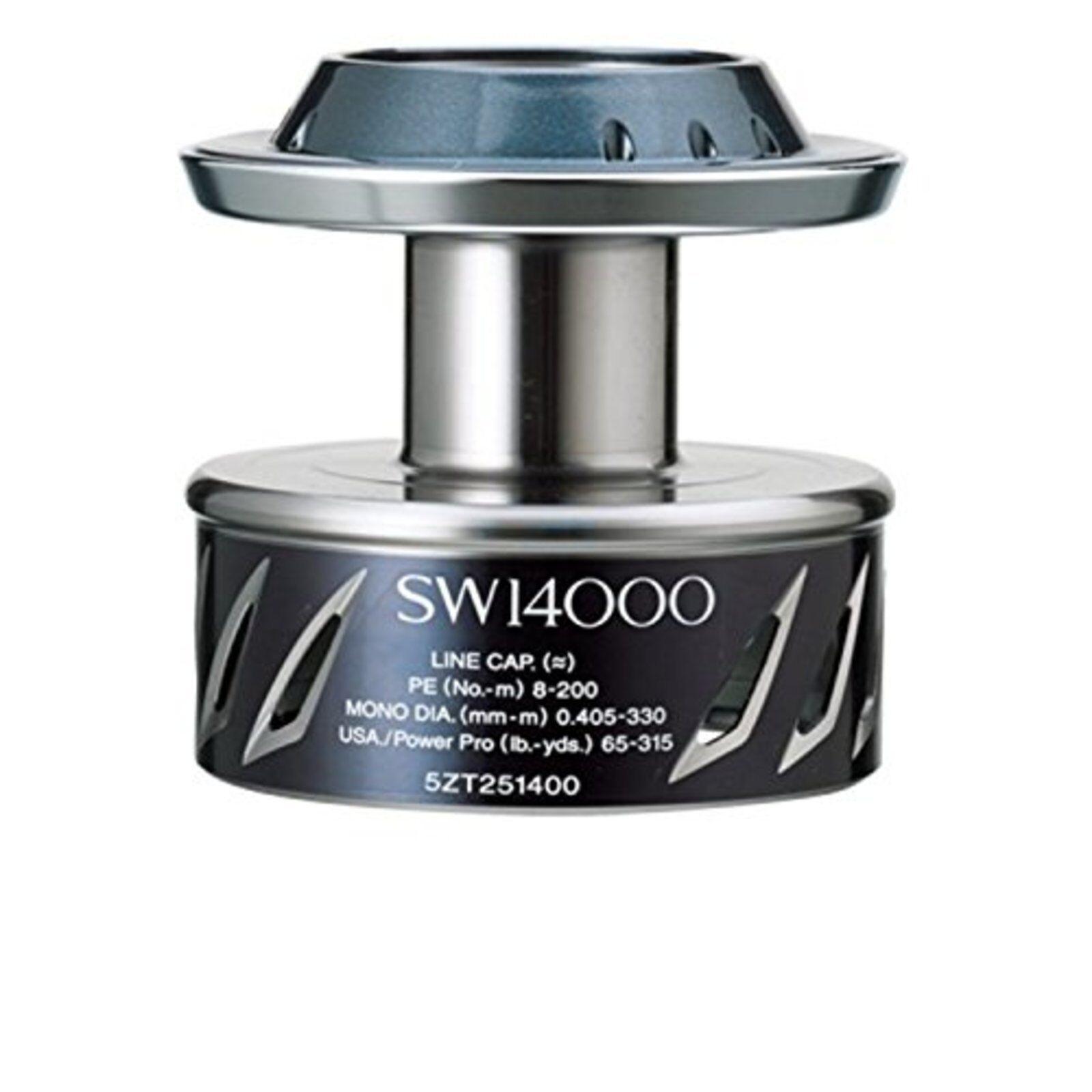 Shiuomoo reel Yumeya 13 Stella SW 14000 energia drag spool FS wTracre  Japan