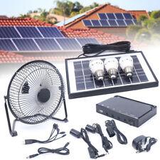 Tutoy Yobolife 18W Pannello Solare Portable Solar Powered System Generatore di Potenza con 4 LED di Luce