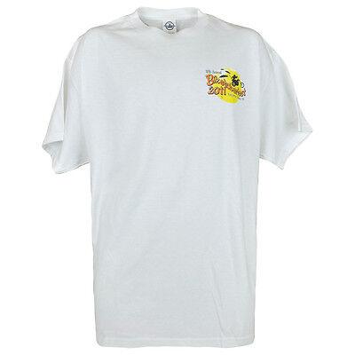 Weitere Ballsportarten Haben Sie Einen Fragenden Verstand Biketoberfest 2011 Daytona Beach Fl Delta Neuheit Mode Bedrucktes T-shirt Weiß QualitäT Und QuantitäT Gesichert