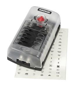 NARVA 54450 12 Way Fuse Box
