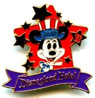 Disneyland Hotel Cast Member 1993 July 4th Worked Pin