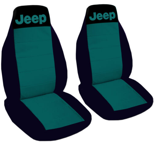 Jeep Wrangler Seat Covers Hot Pink /& Black with Jeep Canvas Front Set