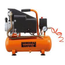 Compressore ad aria lubrificato 9lt 1500W manometro attacco rapido 8 bar TMX558