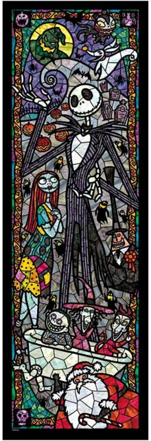 Tenyo Nightmare Before Christmas Stained Glass Gyutto Size Series Jigsaw Pu