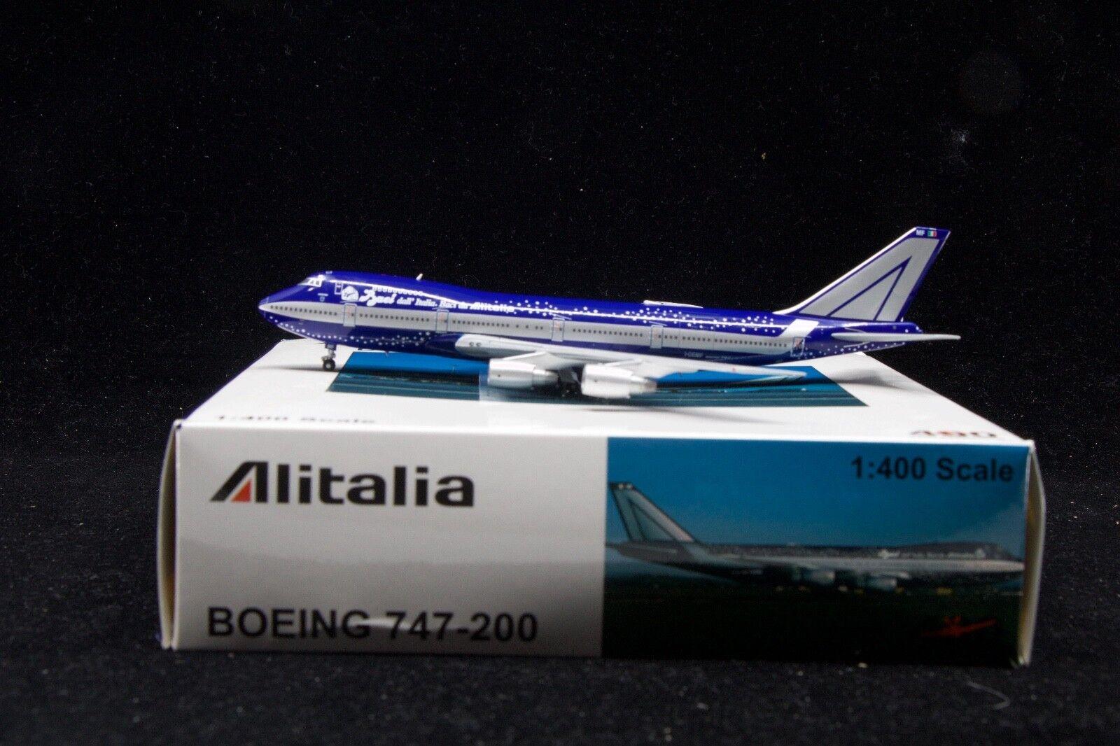 JC Wings 1 400 747-200B Alitalia  baci dalla Italia  I-DEMF