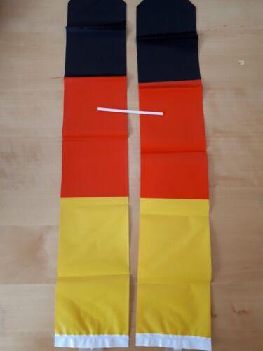 4 Paar Klopfschläuche Clappers Deutschland EM WM Germany Fanartikel 129173013