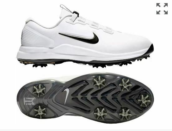 Nike Tw71 Tiger Woods Mens Golf Shoes Size 10 White Cd6300 100 Retail