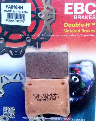 Fa016hh Triumph t140 t150 t160 tr7 750-Original EBC Plaquettes De Freins Brake Pads