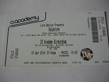 HALESTORM - UNUSED 2014 CONCERT TICKET