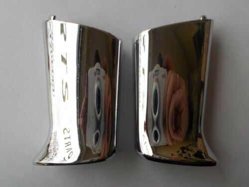 02-11 HARLEY Softail Sportster Dyna REAR TURN SIGNAL MOUNTING 2PC 68480-02