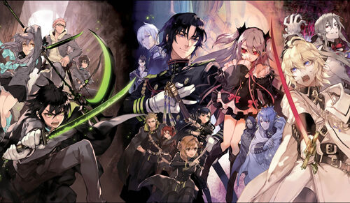270 Seraph of the End PLAYMAT CUSTOM PLAY MAT ANIME PLAYMAT FREE SHIPPING