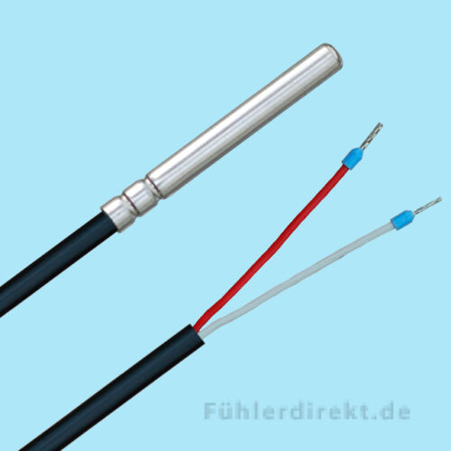 NTC 5KOHM Temperaturfühler 10m PVC Speicherfühler Kesselfühler Tauchfühler NTC5K