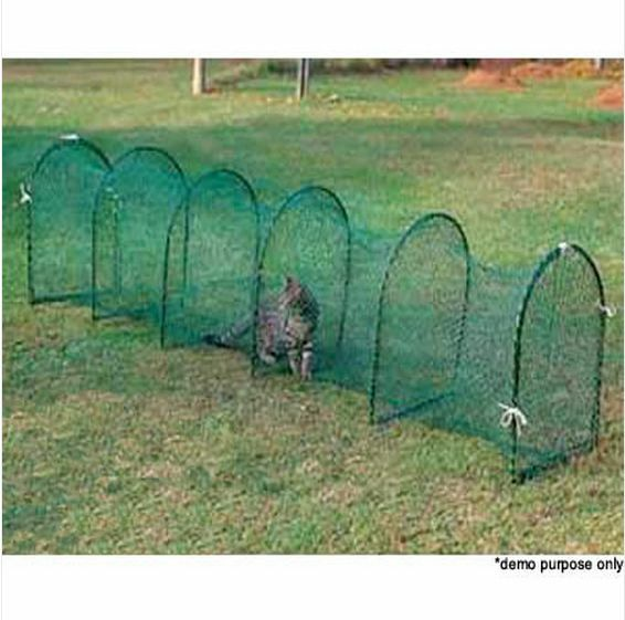 Deluxe Outdoor Foldable Cat Walk & Run Tunnel AU