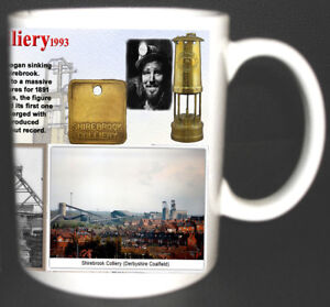 SHIREBROOK-COLLIERY-COAL-MINE-MUG-LIMITED-EDITION-GIFT-MINERS-DERBYSHIRE-PIT