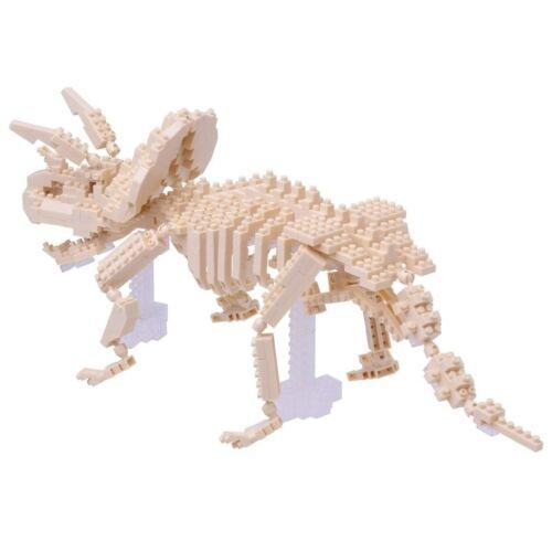 NANOBLOCK Triceratops SKELETON Nano NanoBlocks MicroSized Building Blocks NBM017