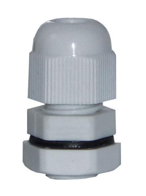 PG13,5 Kabelverschraubung mit Gegenmutter Kunststoff grau JSPG13,5KVS-G