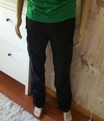 * Carhartt Cargo Pant Columbia Cotton Nero Pantaloni Nero Stone W38 L34 Nuovo ***-mostra Il Titolo Originale