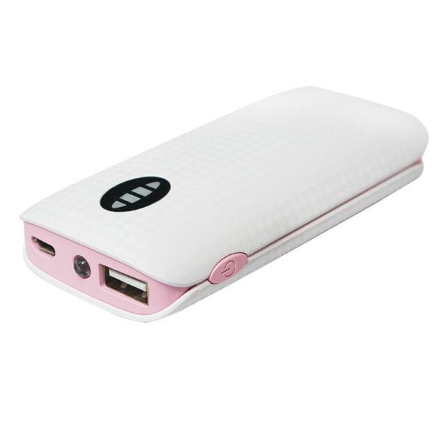 LogiLink Mobiler Zusatzakku 4000 mAh PowerBank m. Taschenlampe 1x USB-Port