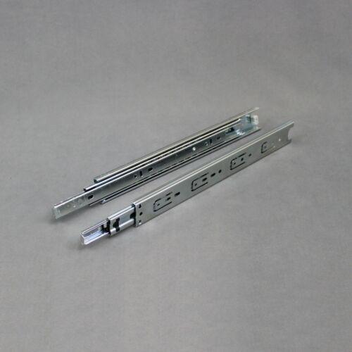 "14/"" Set Ball Bearing Drawer Slides Guides Rail Side Mount Steel Extends 26/"""