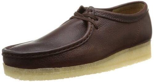 X pour Wallabees Originals Uk roulée G Lea hommes Chaussure brun 9 Clarks 10 wqFtCaxUIw