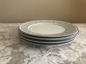 Set-Of-4-Imperial-China-Whitney-6-5-034-Bread-Dessert-Plate-5671-by-W-Dalton