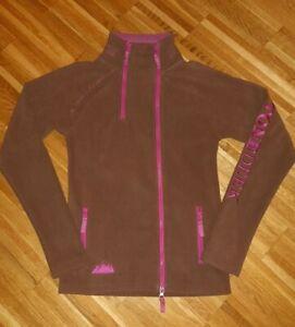 STONEDEEK Fleecejacke Freizeit Reitsport Jacket braun/pink Gr.XS NEU NP69,95