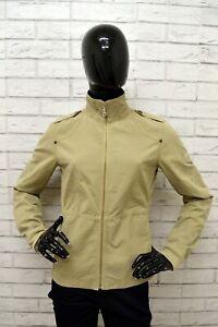 Giubbino-CHAMPION-Donna-Taglia-Size-S-Giubbotto-Giacca-Jacket-Woman-Beige-Cotone