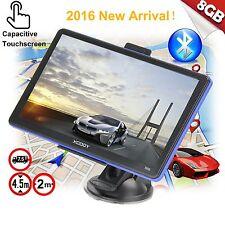 "XGODY 7"" 8GB Truck Car GPS Navigation Sat Nav Capacitive Touchscreen w/Bluetooth"