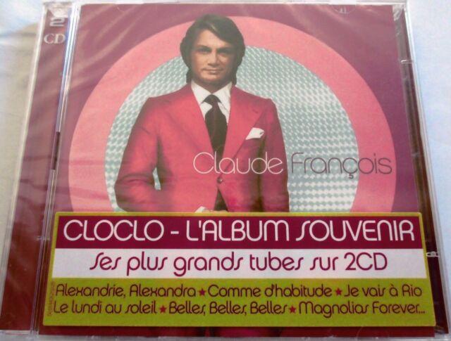 """CLAUDE FRANÇOIS - CD X2 """"ALBUM SOUVENIR"""" ÉDITION ANNIVERSAIRE VARIANT COVER NEUF"""