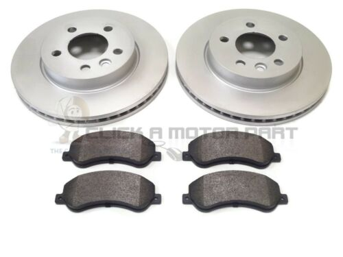 VOLKSWAGEN VW AMAROK 2.0 TDi 2010-2018 FRONT 2 BRAKE DISCS AND PADS SET
