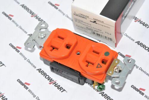 1pcs-COOPER WIRING IG8300RN Isolated Premium Hospital Duplex Receptacle 20A 125V