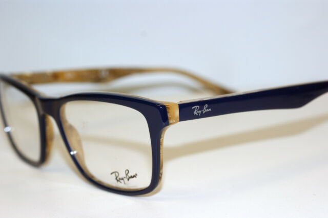Ray Ban Navy Blue Glasses