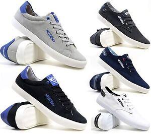 Mens-Lace-Up-Casual-Canvas-Espadrilles-Summer-Plimsolls-Trainers-Pumps-Shoe-Size