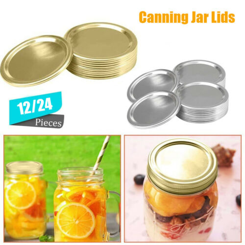 Kitchen /& Dining Regular Mouth Canning Lids Bottles Lid Jar Caps Mason Jar Lid/_/_