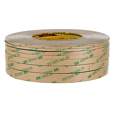 Sizes:12MM Double Sided-SUPER STICKY HEAVY DUTY ADHESIVE TAPE 3M 300LSE