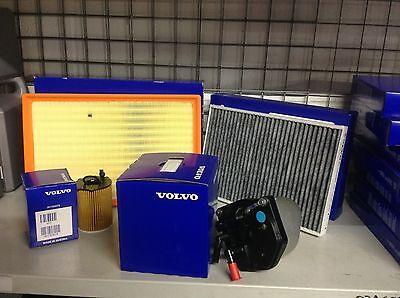 Genuine Volvo Service Kit  2.00 Diesel V70//S60//XC60 Oil//Air//Fuel//Pollen Filter