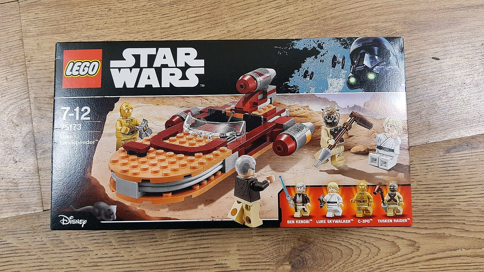 LEGO Star Wars 75173 Luke's Landspeeder (2017)   New, Unopened, Great Condition