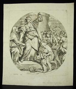 The-Dominiquin-Domenichino-Domenico-Zampieri-Judith-amp-La-Head-D-039-Holofernes-Xviie