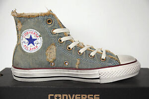 Neu All All Neu Star Converse Chucks hi 123145 Denim Light Blau Schuhe ... 4cfa51