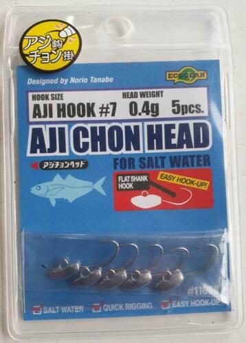 Ecogear Aji Chon Jig Heads 5pcs