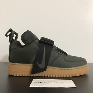 Details about Nike Air Force 1 Utility AO1531 300 Sequoia Black Gum Medium Brown Size 8.5 NEW