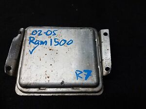 Image Is Loading 2002 2005 Dodge Ram 1500 Front Control Module