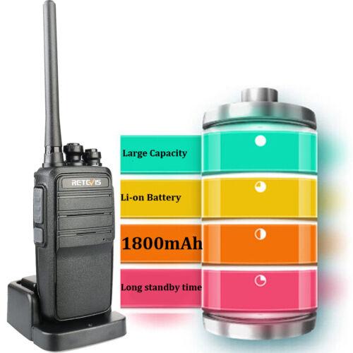 2XRetevis Walkie Talkie RT53 DMR UHF Digital analog 1024CH 2way Radio DMO VOX