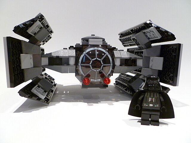 Lego Star Wars Darth Vader's Tie Fighter 8017 FIGURINE FIGURINE FIGURINE 100% COMPLET GARANTIE f649b7