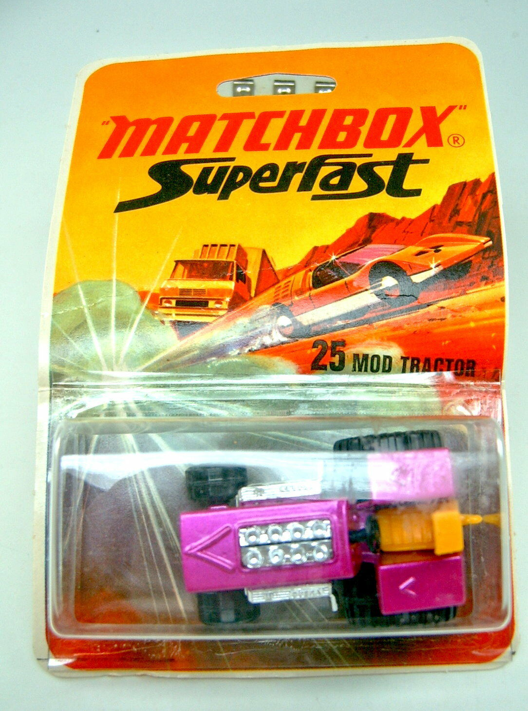Matchbox SF nº 25b mod tractor pintadas bodenpl. a escasos termosellada