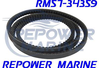 5.7L Replaces 57-37619Q Power Steering V Belt for Mercruiser V6 /& V8 Engines