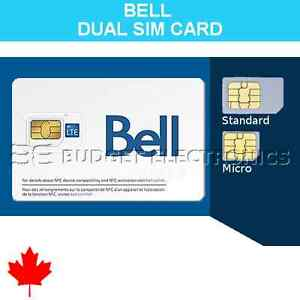 Bell Mobility SIM Card