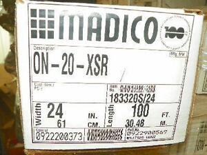 Madico-Tint-24-034-W-x-100-039-L-NIB-20-PERCENT-ON-20-XSR-WINDOW
