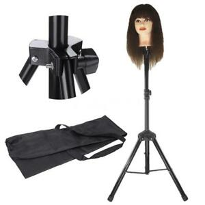 Image Is Loading Adjustable Tripod  Stand Hairdressing Training Head Mold Mannequin