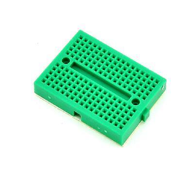 5PCS Mini White Solderless Prototype Breadboard 170 Tie-points Arduino Shield